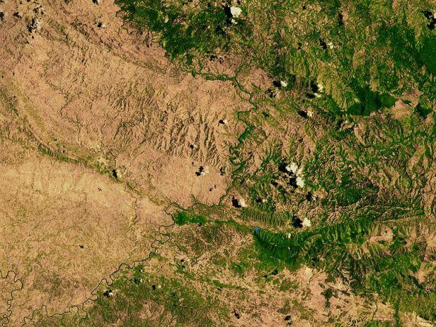 Deforestación Haití