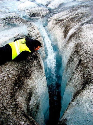 Gracias a la crioconita se producen ecosistemas acuáticos únicos. Crédito: Ville Miettinen.